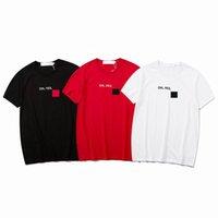 رجل مصمم تي شيرت الصيف الرجال والنساء قصيرة الأكمام أعلى المحملات قمصان مبتسم أزياء تي شيرت حجم S-XL عالية كانليتي
