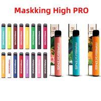 Maskking High Pro Одноразовое устройство US Версия 1000 Puffs 600mAh 3.5 мл Картриджи E Cigarette PK Air Bar Lux GT Bang XXL Puff