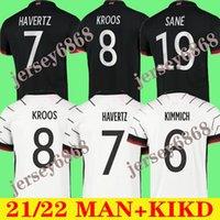 2020 2021 ألمانيا كرة القدم الفانيلة Gundogan Gnabry Gnabry Werner كروس 20 21 Kimmich مايلوت دي القدم لكرة القدم سان جوريتزكا يمكن أن havertz مولر الرجال + الاطفال