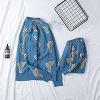 Семья выглядит свитерами осенью мать дочь наряды ручной работы детские и женские свитера пуловер весна мать детей вязание рубашки 2577 q2