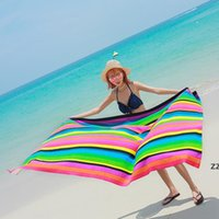 Caballo de verano Dolphin Impreso Playa Toalla de playa Toallas de baño para adultos 100 * 180cm Quicky-Seco Camping Toallas Deporte Toallas de yoga