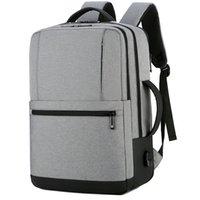 حقيبة الكتف حقيبة الظهر الجديدة العصرية الثانوية والكلية طالب مدرسية متعددة الوظائف حقيبة الكمبيوتر حقيبة عارضة أزياء رجالي حقيبة يد
