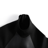 Women's Swimwear 3mm Neoprene Fulls Wetsuit Long Sleeve Scuba Suits with Back Zipper UV Protection Full Body Wetsuits for Swimming Diving Surfing Snorkeling