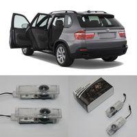 Projetor LED Car Welcome Light para F01 / F02 / F03 / F04 / E65 / E66 / E67 / E68 / F10 / E60 / E61 / F07 / E84 / E83 / E63 / E64 / E90 / E91 Lâmpada de porta automática Interiorexte INT