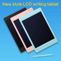 """أحدث الرسم 8.5 """"LCD الكتابة اللوحي الالكترونيات لوحة الجرافيك رقيقة جدا منصات خط اليد المحمولة مع القلم الاطفال الهدايا"""