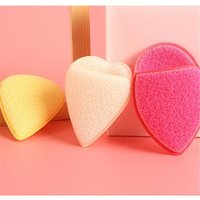 Sponges, Applicators & Cotton Skin Care Beauty Tool Heart And Water Drop Shaped Body Washing Sponge Cleansing Scrub Puff Facial Cleaner