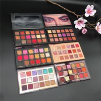 Gözler Göz Farı Paleti Makyaj 18 Renkler Mat Glitter Pırıltılı Güzellik Göz Makyaj Gölgeler Kozmetik Paletleri 5 Türleri
