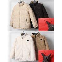 망 재킷 코트 다운 자켓 Womens Letter Winter Coats 스포츠 파카는 양쪽에 고급 캐시미어 착용 방풍과 따뜻한 탑 Clothings