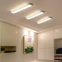 사각형 LED 천장 조명 복도에서 현대적인 미니멀리스트 통로 복도 발코니 홈 장식 인테리어 램프 비품 R267