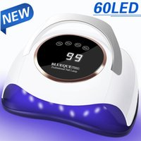 Nail Dryers UV LED Lamp For Drying Nails Gel Polish Dryer With 60 LEDs Professional Manicure Art SalonTools