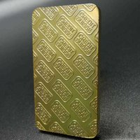 Arts and Crafts Non-magnetic CREDIT SUISSE ingot 1 oz gold-plated gold bar Swiss souvenir coins with different serial laser numbering crafts collectibles JGKN