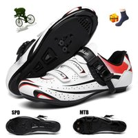 الأحذية المسطحة الدراجات الرجال zapatos ciclismo mtb hombre المهنية الرياضة في الهواء الطلق قفل الطريق SPD دراجة أحذية رياضية