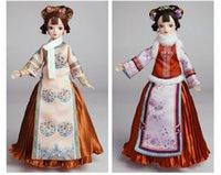The Qing Dynasty Palace Little Princess Doll è alta 28 cm, con arti mobili e testa, vestiti lavabili del regalo dei bambini