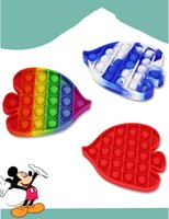 Favor Rainbow fish pop toy Mental arithmetic puzzle parent-child interaction I am a master decompression board game