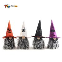 Party Supplies Halloween Decoration Faceless Doll Pumpkin Bat Gnome Kids Toy Gift Horror Holiday Props Table Ornaments