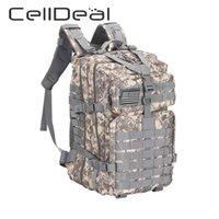 1 stücke Große Kapazität Männer Army Military Assault 3P Outdoor Durable Oxford Tasche Camping Jagd Wandern Rucksack Unisex 5 Arten 210310