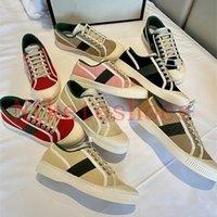 2021 Çocuklar Tuval Ayakkabı Baskı Tasarımcı Sneaker Kırmızı Yeşil Şerit ACE Kadın Sneakers Çiçekler Pembe Tenis Koşucu Rahat Ayakkabılar Spor ve Boş Zaman