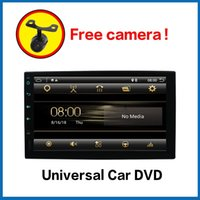 Bosion Android 10 Car DVD Player With GPS Navigation Double Din Stereo 7'' Audio Backup Camera 2.5D Screen