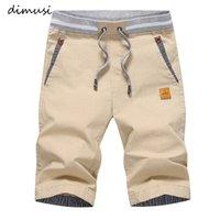 Шорты Dimusi летние грузы мужские повседневные эластичные талии хлопчатобумажный пляж мужской мода дышащий Homme одежда 4XL, YA869