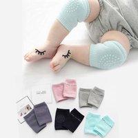 2021 Acessórios para bebés Bebê bebês cotovelo cotovelling joelho respirável protetor aquecedor sílica gel pontos antiderrapante joelheiras 1064 x2