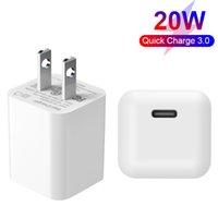 Super Mini 20W PD-Ladegerät für iPhone 12 ETL FCC-zertifiziertes schnelles Laden mit US-amerikanischen USB-C-Adapter