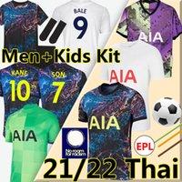 2021 2022 Dele Son Totting Soccer Jerseys Ham Bale Kane Hojbjerg Bergwijn Lo Celso Spurs Lucas 21/22 Men + Kids Kit Football Shirts