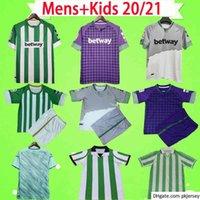 Man + Kids 20 21 Real Betis Football Jersey Jersey Joaquin Loren Boudebouz Bartra Home Over 3-й каналы издание Фексир Футбольная рубашка Униформа
