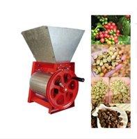 신선한 커피 힐러 기계 수동 커피 펄프 기계 작은 커피 콩 필링 기계 작은 크기 고효율