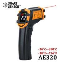 Digital Infrared Thermometer Non-Contact Laser Termometer IR LCD Display Temperature Meter Gun Pyrometer Temperature Instruments 210719