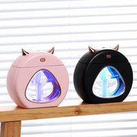 USB small magic humidifier home mute small large spray air conditioning bedroom desk office air purification