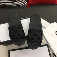 Sandalia de cuero Mujeres de lujo Desingers de lujo Zapatillas Moda Cómoda Personalidad Finas Flip Flozs Marca Zapatillas Ladie Sandalias Sandalias Folletas con caja