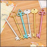 Gel Writing Business & Industrialgel Pen Key Style Black Retro Dynamic Pens Student Stationery Learning School Office Supplies Wzw-Yw3669-Zw