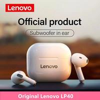Original Lenovo LP40 Wireless Kopfhörer Tws Bluetooth-Ohrhörer Berühren Sie Steuer-Headset Stereo-Ohrhörer für Telefon Android