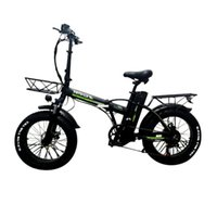 Off Road Tire Electric Snow Bike R8 Electric-Bicycles 800W 48V Powerful Electrics Bicycle Foldable With Back Carrier EU STOCK