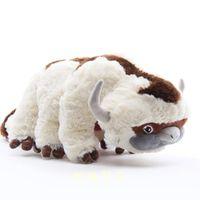 NewArival 100% Baumwolle Avatar Plüschspielzeug Letzter Airbender Appa Soft Juguetes Kuhfüllter Spielzeug für Geschenke 45cm