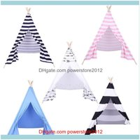 Camping Hiking Sports & Outdoorstent Children Teepee Baby Indoor Dollhouse With Coloured Flags Tents And Shelters Drop Delivery 2021 O5Vri