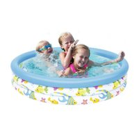 Kiddie Pool Baby Inflatable Swimming Water Toys Bath Tub Lar...