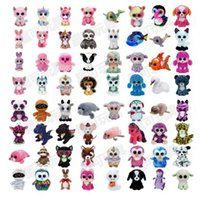 Party Decoration new 35 Design Plush Stuffed Toys 15cm Wholesale Big Eyes Animals Soft Dolls for Kids Birthday Gifts toy
