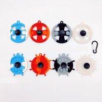 EE. UU. Alcompresión de descompresión juguete llavero 8 estilo blanco fluorescente prensa burbuja fotosensible color cambio rompecabezas sensorytoy para niños juguetes de ventilación fidget cy06
