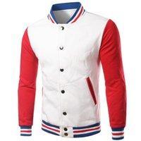 남성 패션 야구 재킷 남자 여자 2020 패션 슬림 맞는 양털 코튼 대학 자켓 가을 폭격기 Veste Homme