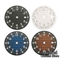 31,5 мм белый черный кофе синий стерильный циферблат для часов Fit ETA 2836/2824 DG2813 / 3804 Miyota 8215 821A 8205 8200 Движение-09888