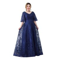 Plus Size Evening Dresses Ever Pretty Elegant V-Neck Ruffles Formal Gown Party Dress Robe Wedding Simple 2021 Ethnic Clothing