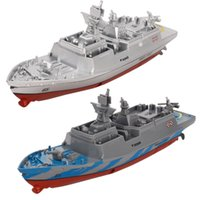 Uzaktan Kumanda Askeri Savaş Gemisi Modeli Elektrikli Oyuncaklar Çocuklar Için Su Geçirmez Mini Uçak Gemisi Hediye
