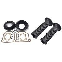 Handlebars Carburetor Repair Kit For BING CV 32mm Carb Airhead R65 R75 R80 R90 & Handlebar Hand Grips Bars Cover 7 8Inch R1100