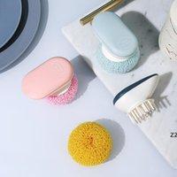 나노 청소 공 환경 친화적 인 가정용 청소 접시 씻어 내구성 냄비 브러시 주방 청소 접시 그릇 브러쉬 hwe8110