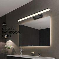 Modern LED Duvar Işık Banyo Aynası Lambası 220 V 110 V 9 W Monte Makyaj Kozmetik Sıcak Beyaz Lambalar