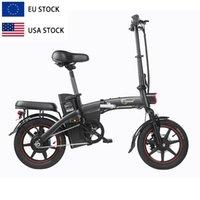 USA EU warehouse DYU A5 48v 350w foldable folding 2 person eu scooter city mountain road ebike e bike adult electrical bicycle