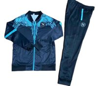 2021 Tracksuit TougsUit Hoodie Tookie Soccer Jersey Zielinski 20/21 SSC Неаполь Длинные Zipper Stipper Set Veste Suit