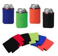 Outras ferramentas de cozinha Atacado Muitas cores em branco Neoprene Dobrável Dobrável Suportes Beer Cooler Bags para vinho alimentos Capa 3re6n V0inw