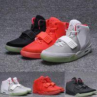 Kanye NRG 2.0 SP Red October West Shoes 2021 탑 스포츠 러너 남자 망 빛나는 형광 솔 스니커즈 octobers 운동 트레이너 캐주얼 구두 크기 40-46
